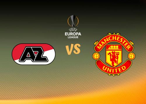 AZ Alkmaar vs Manchester United  Resumen y Partido Completo