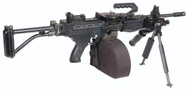 Gun Maniac Imi Negev Light Machine Gun