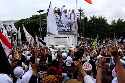 Anti-Ahok rally, Jakarta, 2012