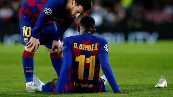 L'Equipe culpa al Barcelona de las lesiones de Dembélé