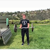 Arnold Schwarzenegger Has Intense Home Workout At The Home Backyard.