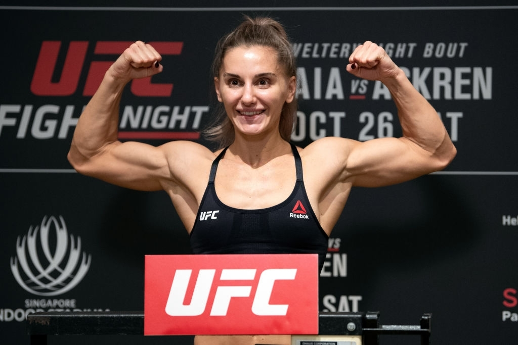 female ufc fighters 2020