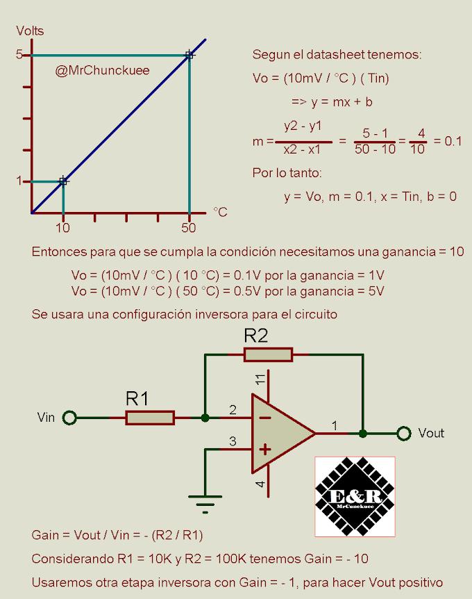Acondicionador de señal para LM35