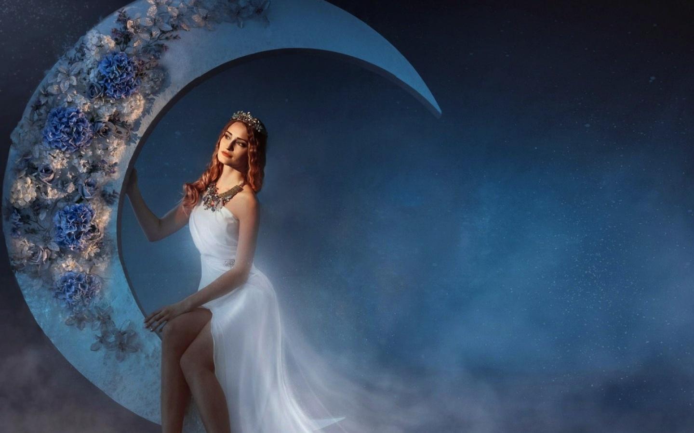 kako manifestovati s mjesecom zenska energija