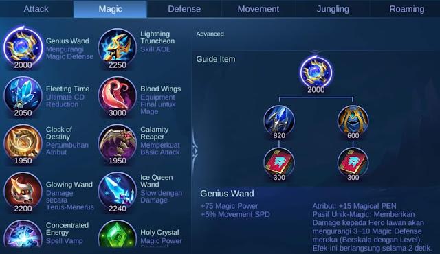 Item Magic Mobile Legend