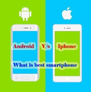 Android Vs Iphone : konsa smartphone best hai ?