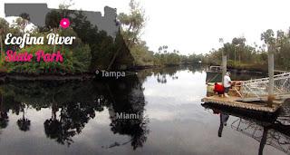 Ecofina River State Park, Florida USA