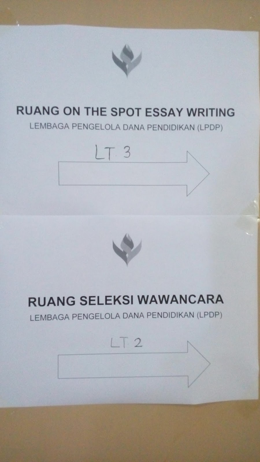 seleksi essay on the spot lpdp