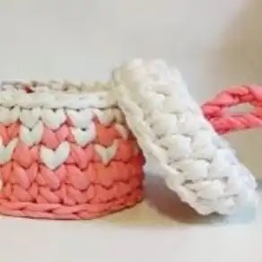 Cestos a Crochet