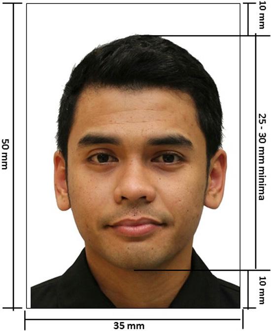 Spesifikasi Foto atau Gambar Untuk Renew Passport Malaysia
