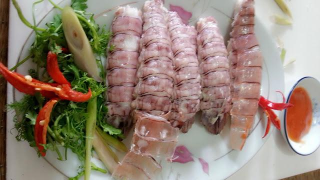Tom tit hap xa - Cho hai san Da Nang 0905279878 Mr.Nam