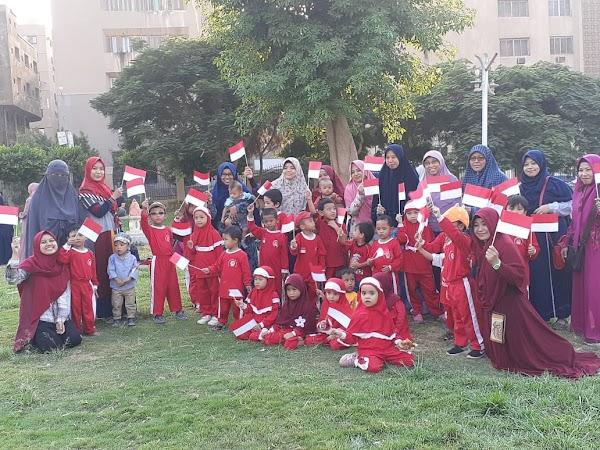 Lomba Kemerdekaan RI, TK ABA Kairo: Tumbuhkan Sikap Nasionalisme