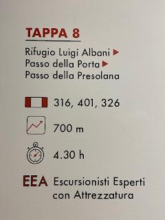 Eighth leg of Sentiero delle Orobie - Tito Terzi Exhibit
