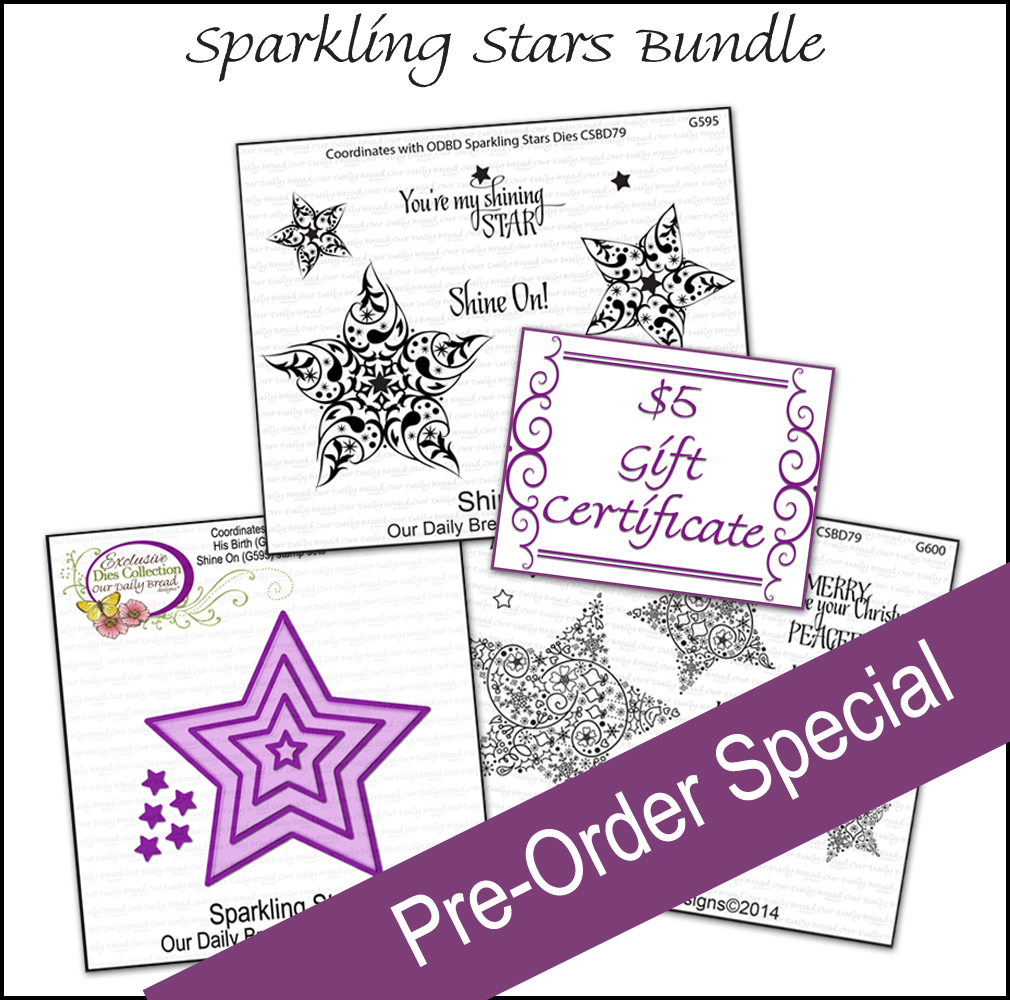 ODBD Custom Sparkling Stars Bundle Pre-Order with Bonus