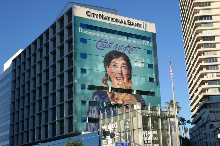 Giant Call Me Kat series premiere billboard