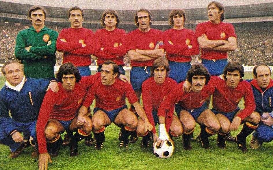Alineación de España en el partido contra Yugoslavia el 30 de noviembre de 1977