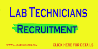 Laboratory Technician Recruitment - Government of West Bengal