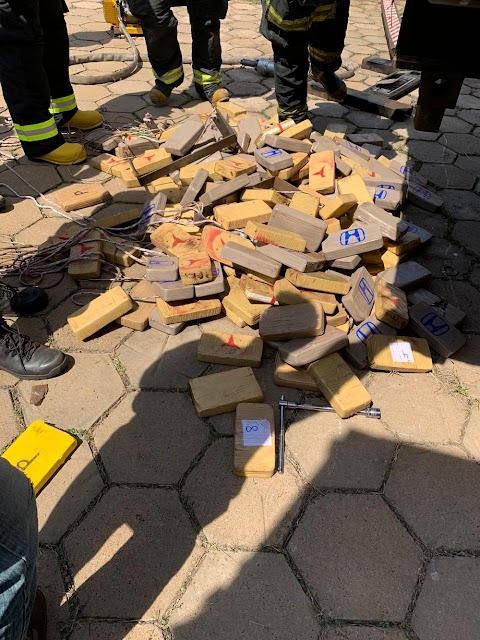 Polícia Federal apreende 200kg de cocaína escondidos em carreta e motorista é preso por tráfico