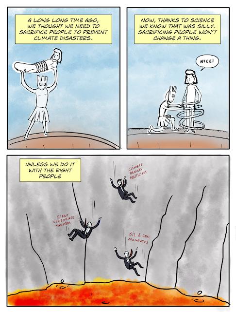 Funny Human Sacrifice Cartoon