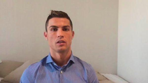 """Cristiano Ronaldo a los niños en Siria: """"Yo estoy con ustedes"""""""