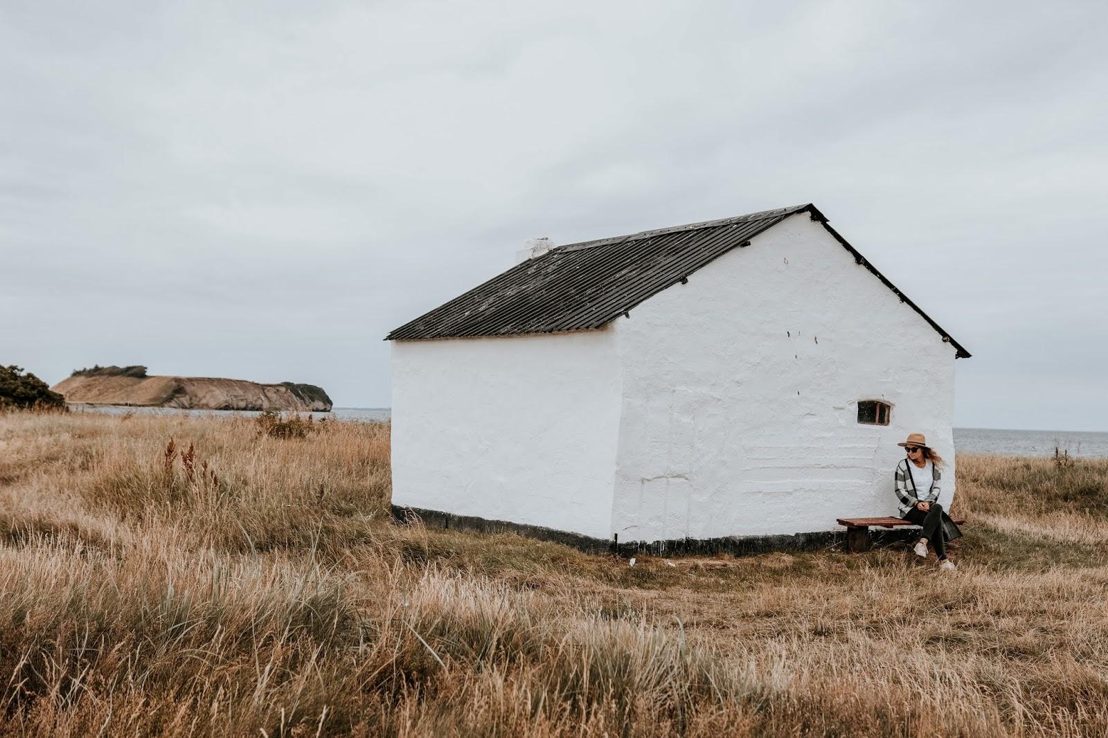 Rybacka chata w Danii.
