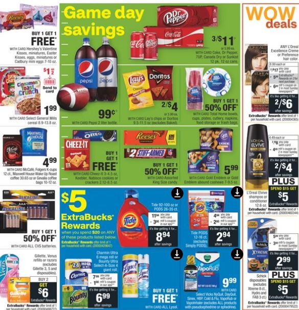 CVS Weekly Ad Preview 1/19-1/25 Page-2