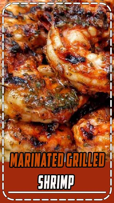 "Marinated Grilled Shrimp | ""This marinade added great flavor to grilled shrimp."""
