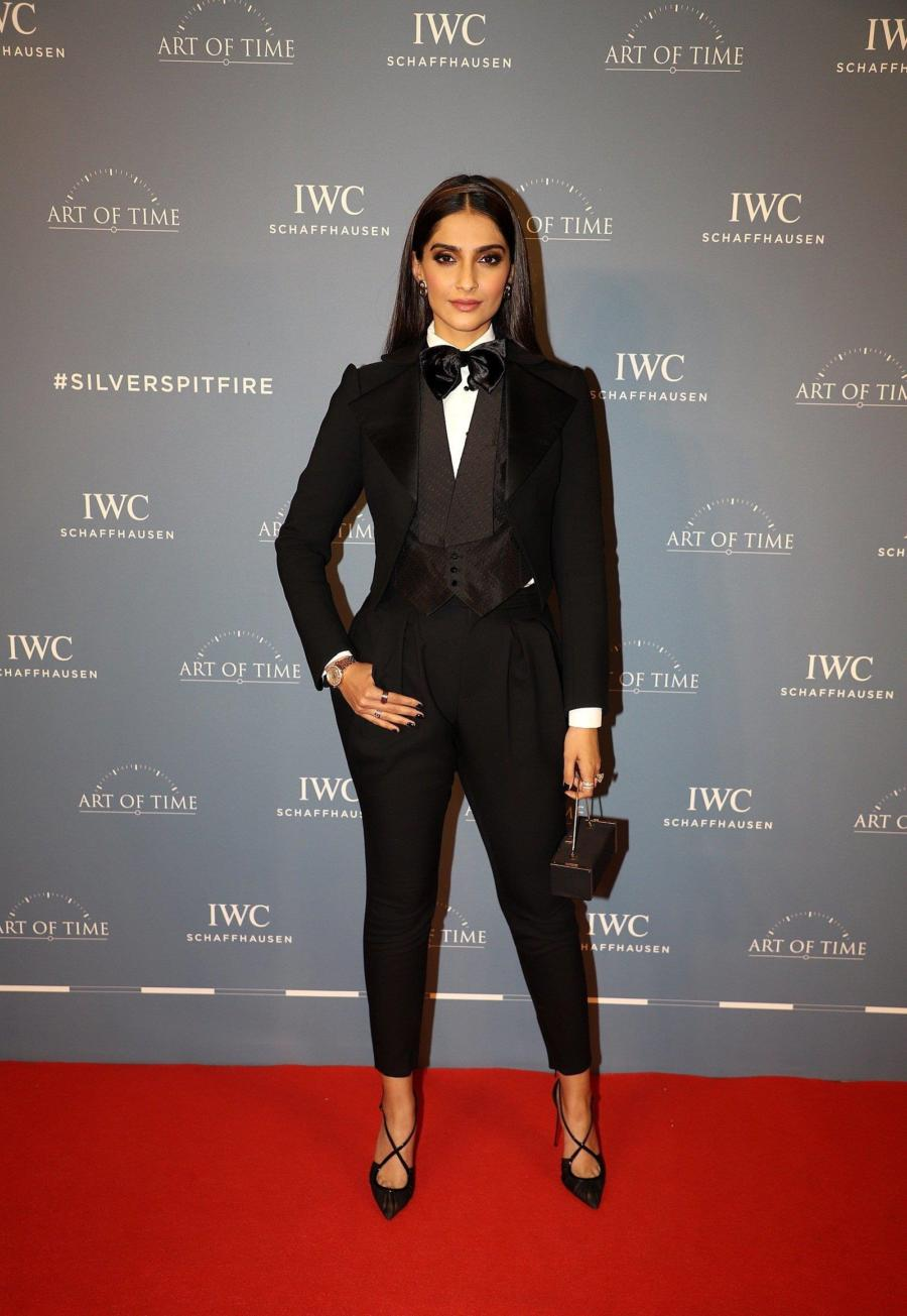 Sonam Kapoor At The Launch Of IWC Schaffhausen Watches