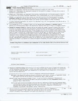 IRS 1023 Application and Supporting Documents