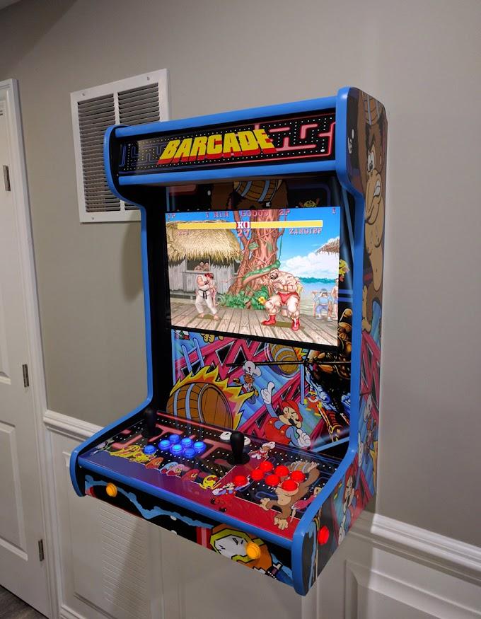 Mini Maquinitas Arcade de los 80 con LCD ahorran espacio en tu habitación