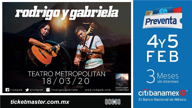 Rodrigo y Gabriela vuelven a México