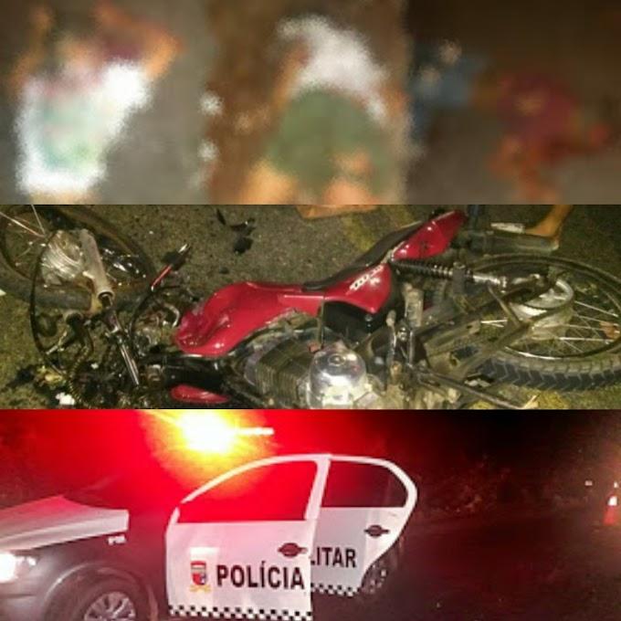 Quatro pessoas morrem em acidente com duas motos no Alto do Rodrigues