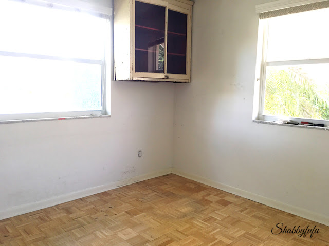 parquet hardwood floors with damage