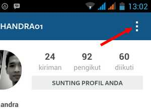 opsi private akun instagram