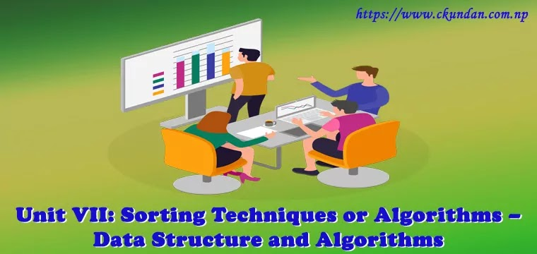 Sorting Techniques or Algorithms – Data Structure and Algorithms