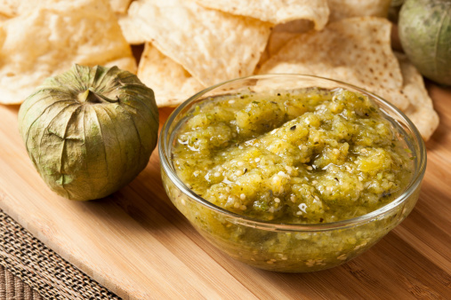 Tomatillo Salsa Verde | Nani Loves Tati
