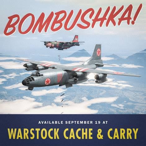 Now Available in GTA Online: Bombushka Run Mode and RM-10 Bombushka Plane