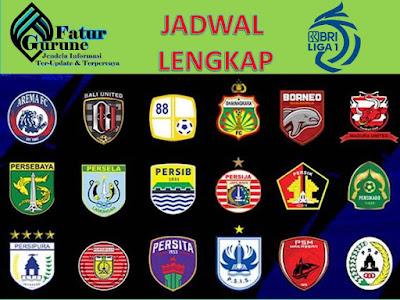 Liga BRI 1 Pekan Keenam, Sembilan laga pertandingan Seru Liga BRI 1, Berikut Jadwal lengkapnya