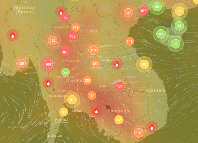 Air quality in Thailand