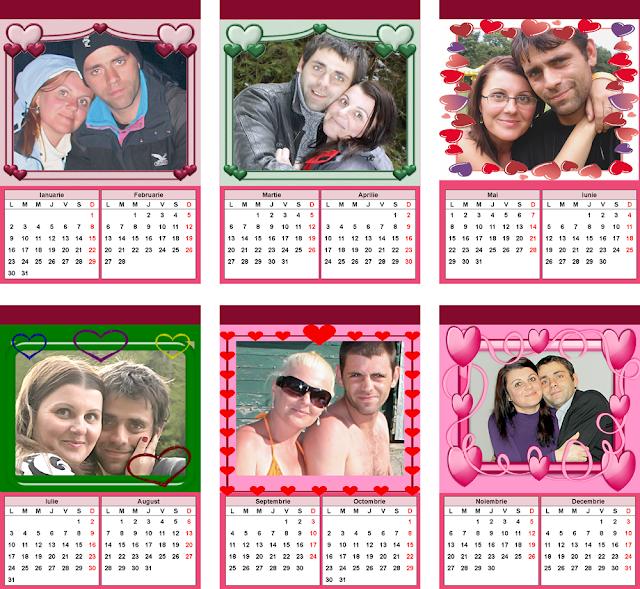 calendar Indragostiti