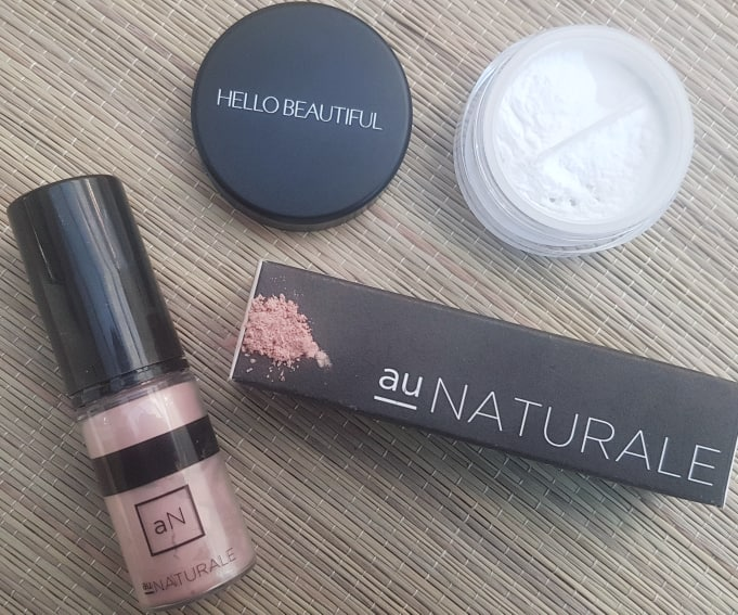 Au Naturale Highlighter and Anita Grant Finishing Powder - Best Makeup of 2019