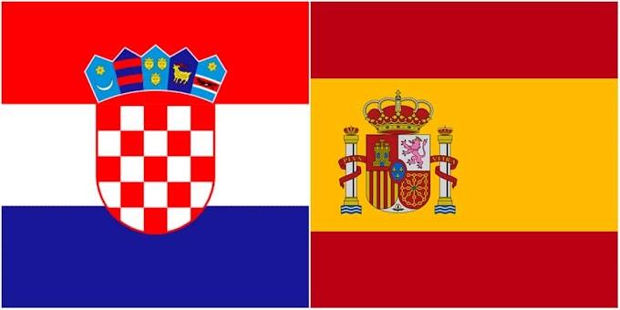 Watch Croatia VS Spain Matche Live