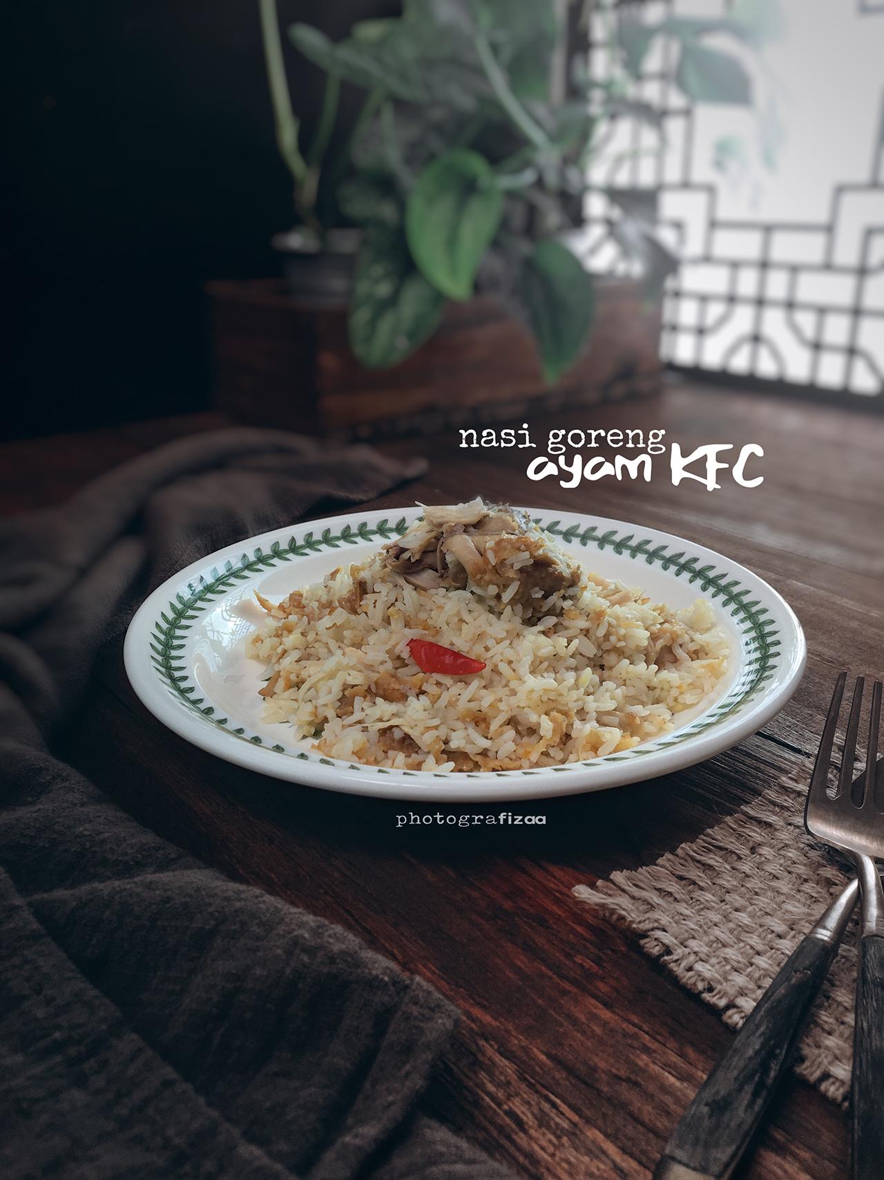 Resepi Nasi Goreng Ayam KFC Viral