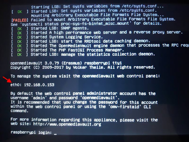 Linux Endereço IP