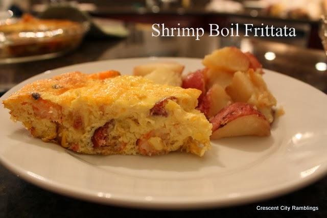 Crab Cake Frittata