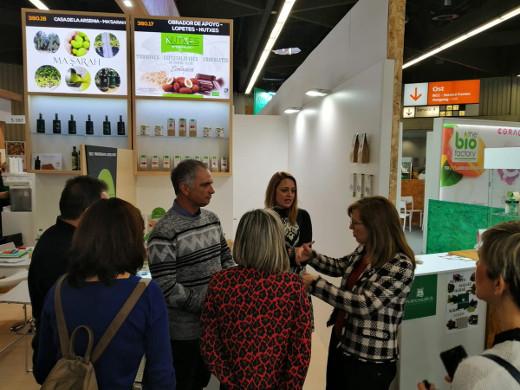 El Consell apoya la presencia de empresas valencianas en la feria ecológica Biofach