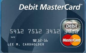 Master-Debit Card