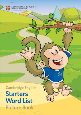 كتاب cambridge English Starters Word List Picture Book