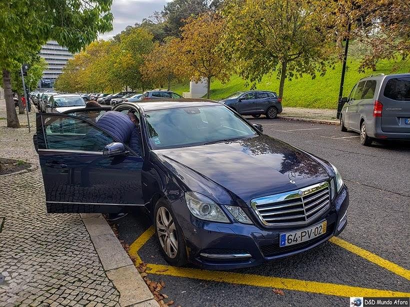 Carro usado pela Walkborder nos tours: receptivo em Lisboa