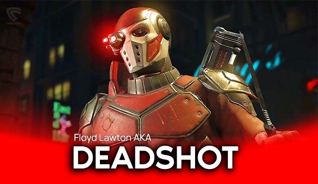 Deadshot A.K.A Floyd lawton